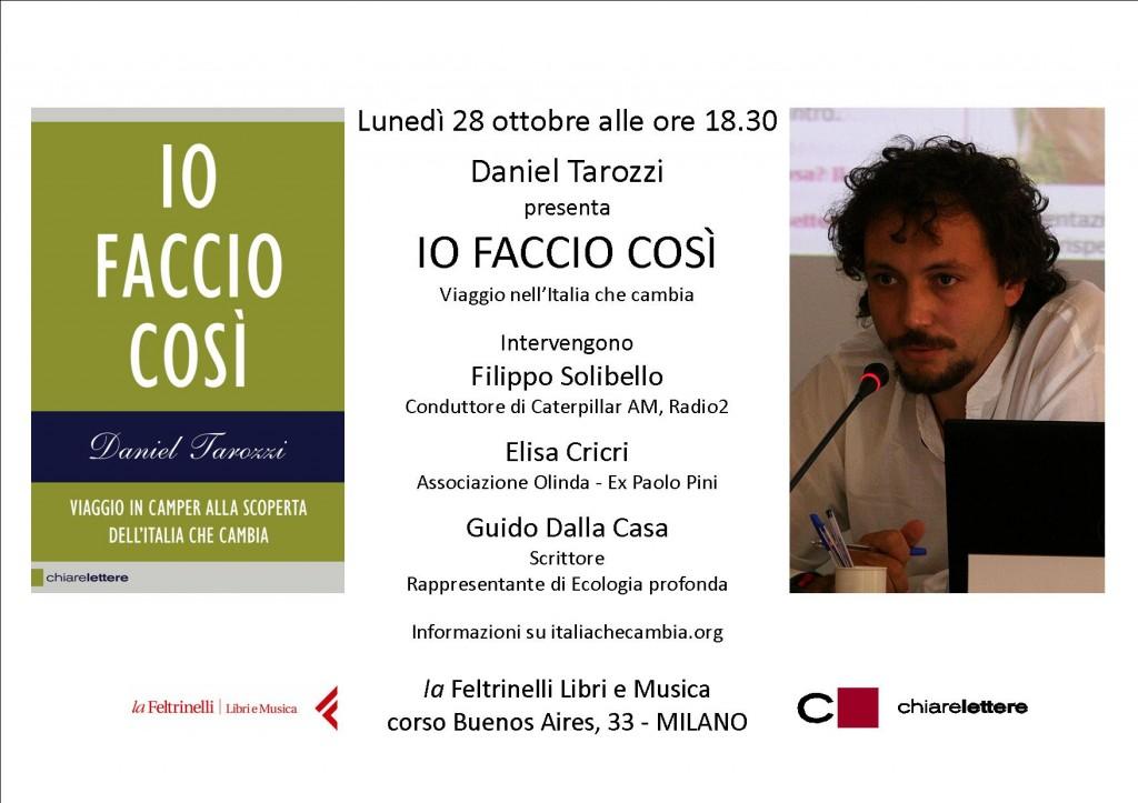 IO FACCIO COSì MILANO 28.10.13