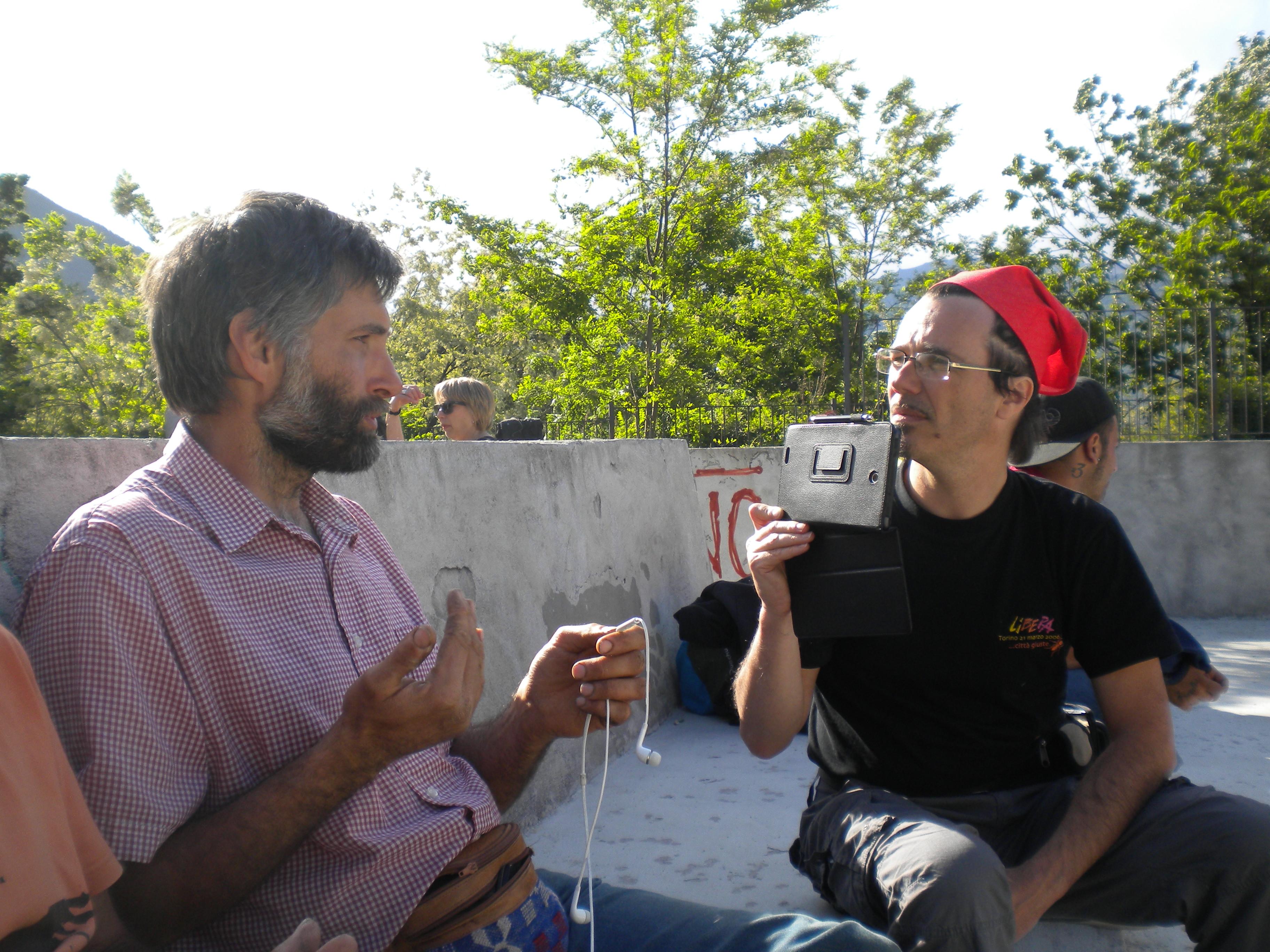 Daniele Contardo intervista Carlo Guerra in bassa Val Susa