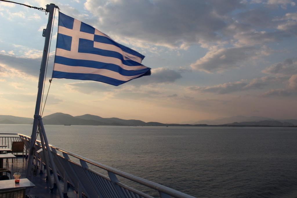 Sulla nave in direzione di Amorgos