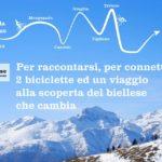 A Biella in bicicletta a caccia di cambiamento