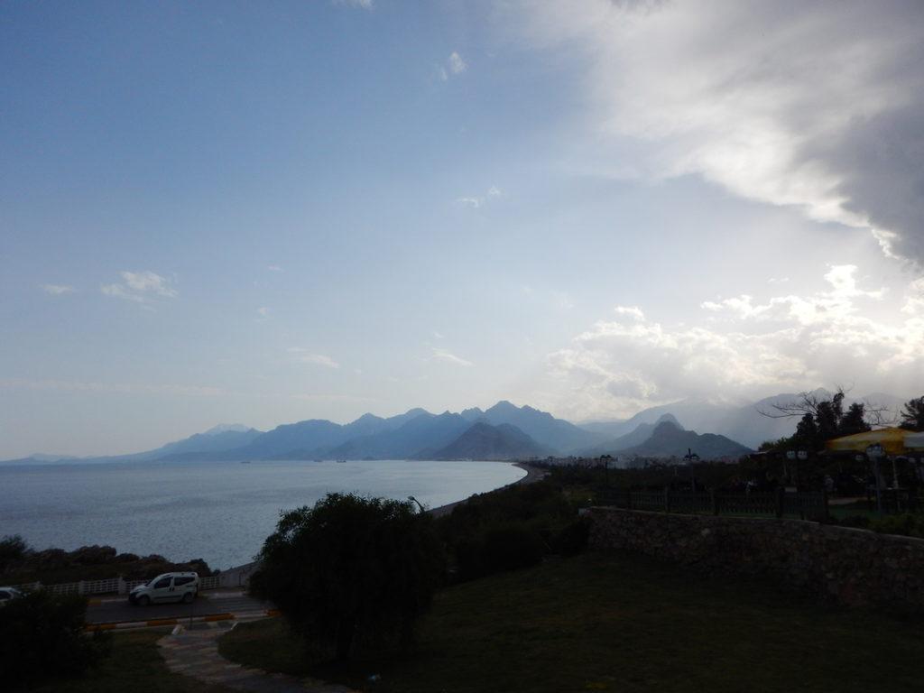 La costa dı Çırali vısta da Antalya