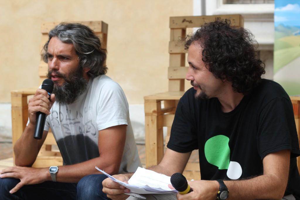 Andrea Saccon e Daniel Tarozzi