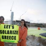 Un Mediterraneo libero dal petrolio: Greenpeace in azione a Rodi