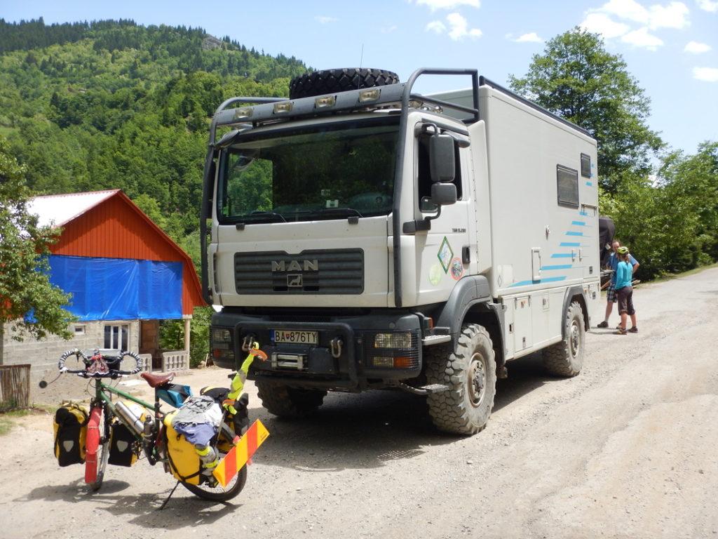 Il super camion 4x4 degli slovacchi