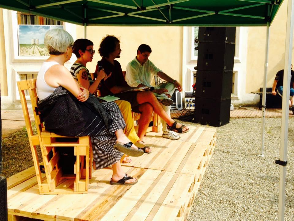 Valeria Zangrandi parla dell'associazione Borghi Autentici d'Italia al Festival della Lentezza