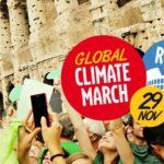 Marcia Globale per il Clima: il 29 novembre si manifesta a Roma
