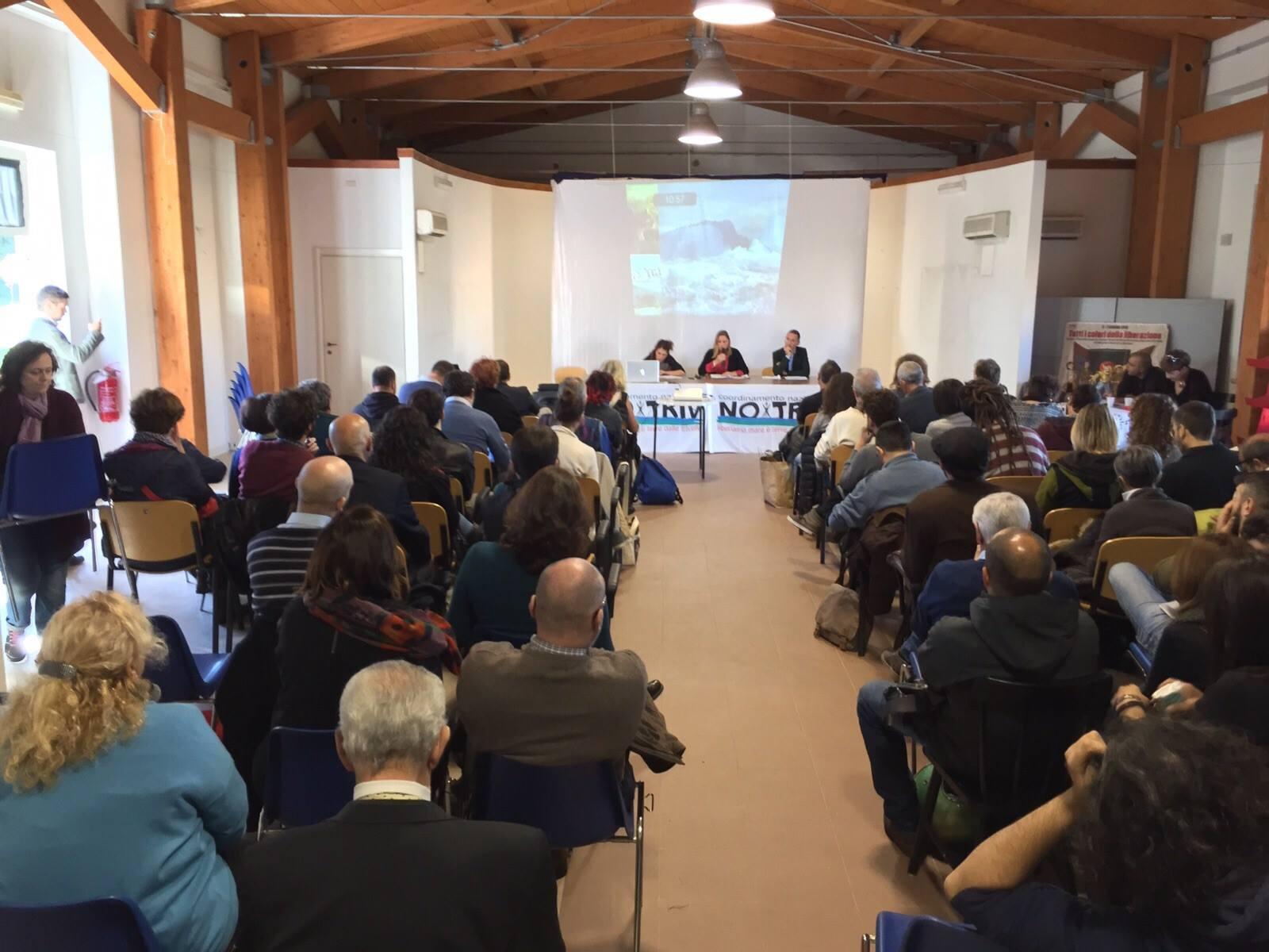 """Si è svolta l'8 novembre a Roma l'assemblea nazionale """"Verso il Referendum No TRIV"""""""