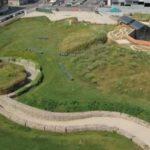 Il Parco Arte Vivente è un territorio verde in continua evoluzione e occupa un'area ex-industriale di circa 23.000