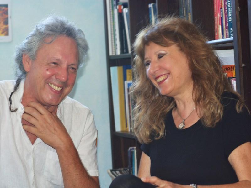Leonardo Spina e Sonia Fioravanti
