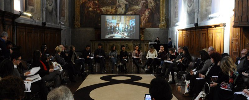 Riunione plenaria sala del cenacolo Museo della Scienza e della Tecnologia Leonardo Da Vinci