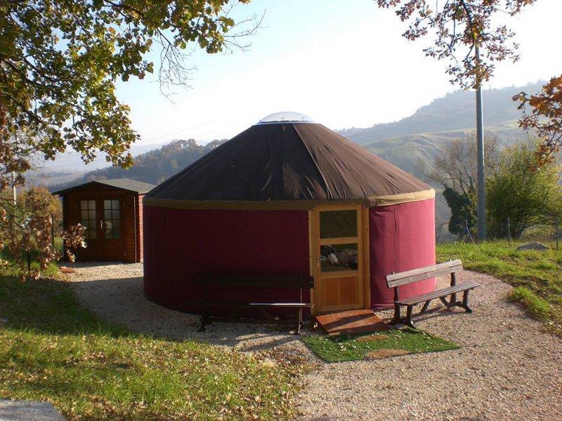 Yurta al Parco Cristallo