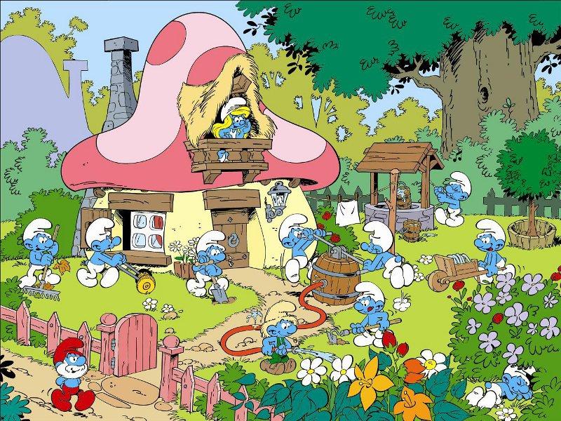 smurfs-village