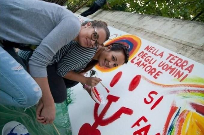 SpazioPiù vuole favorire un processo di rafforzamento delle relazioni reali, basate su solidarietà, condivisione e progettualità