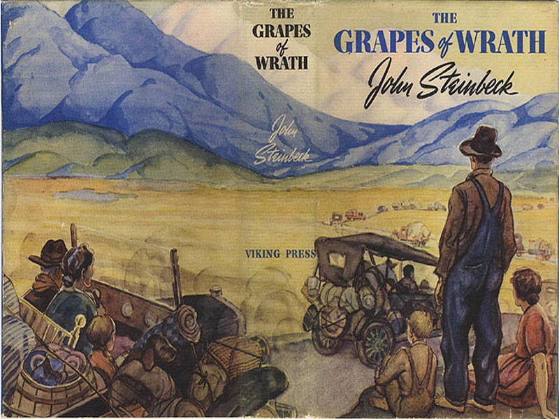 "grapes of wrath movie review essay ""the grapes of wrath,"" by john steinbeck is a classic novel noted for its descriptive quality, and fascinating writing techniques however, its seemingly historical theme is mainly designed to promote socialistic theories."