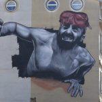 Un murales lungo 664 chilometri: è il Tunnel del Mediterraneo per i migranti