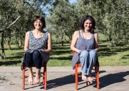 Manuela Cannone ed Emanuela Moroni
