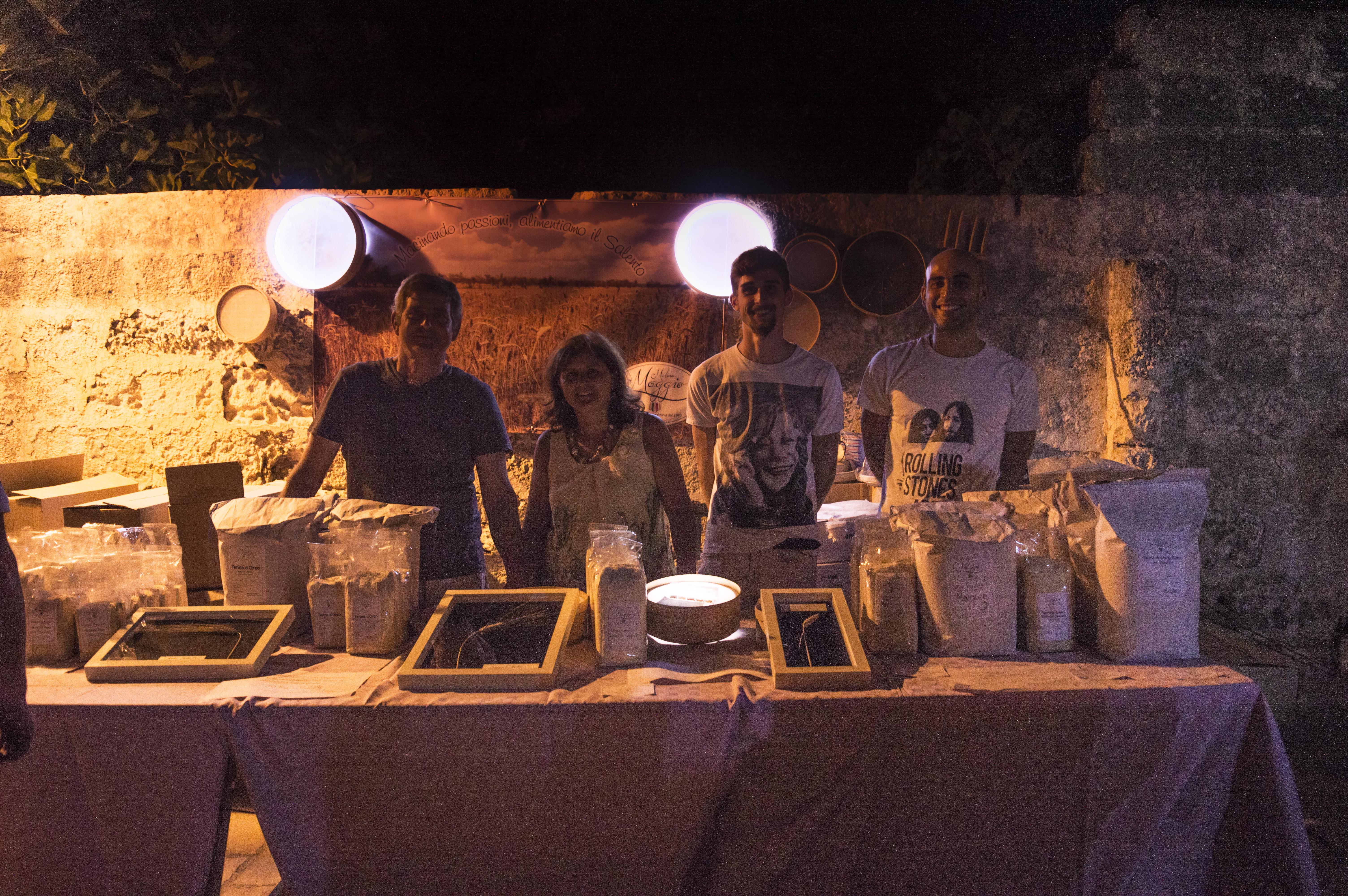 Le farine Maggio a Notte Verde