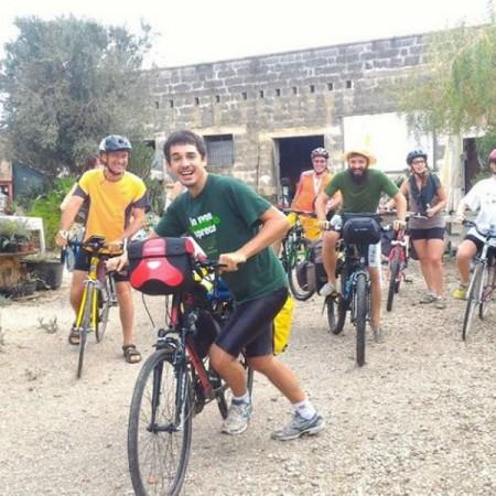 Il Bike tour arriva alla Masseria Miele