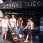 Milano, la pace ha un posto dove sentirsi a casa