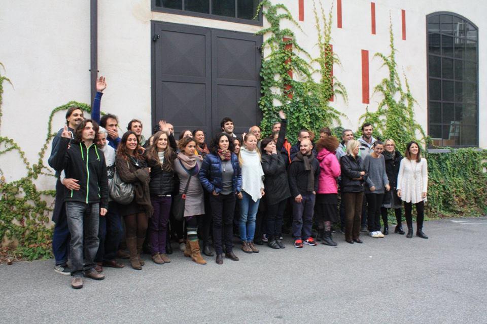 Incontro di Italia che Cambia alla Cittadellarte-Fondazione Pistoletto, Biella