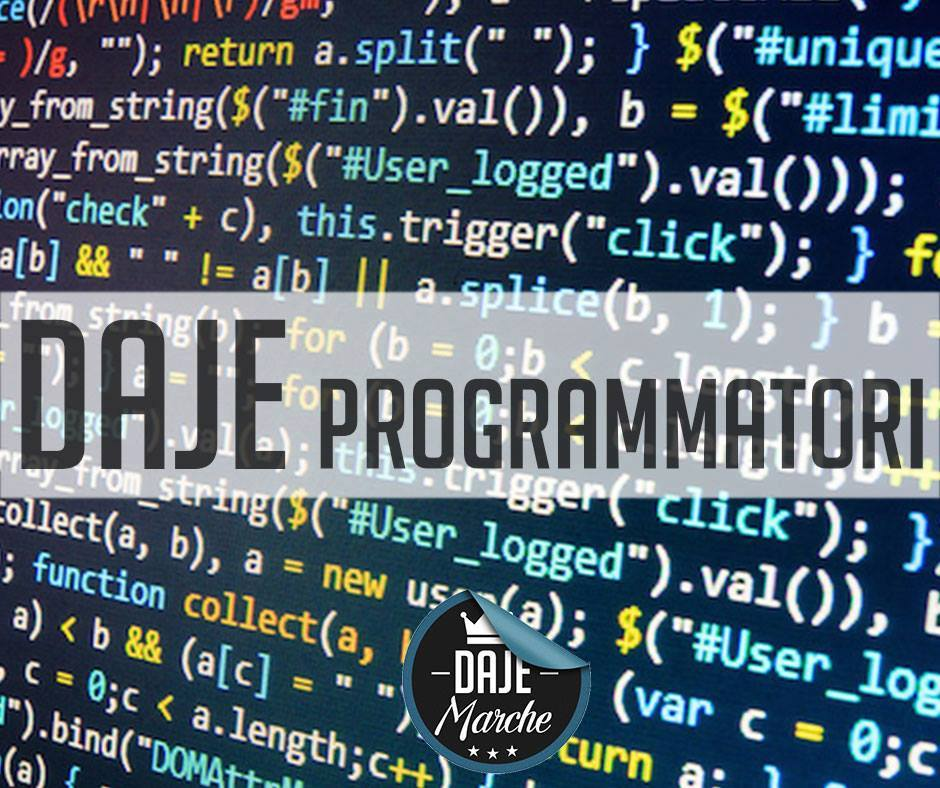 Programmatori e grafici sono già a lavoro per costruire la piattaforma di e-commerce