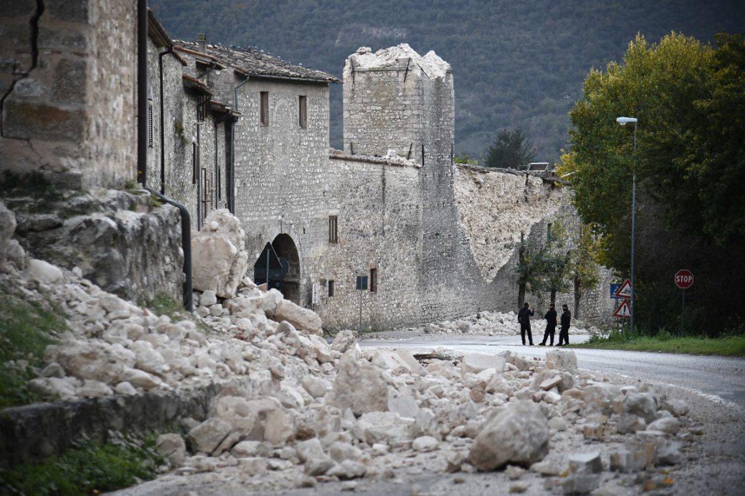 Norcia dopo il terremoto