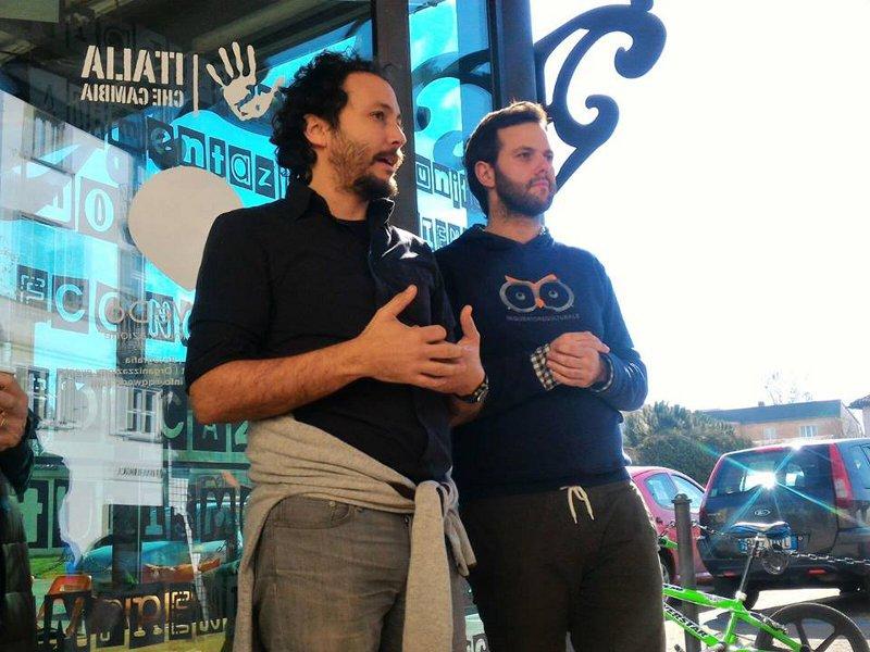 Daniel Tarozzi e Roberto Vietti presentano il progetto Piemonte che Cambia