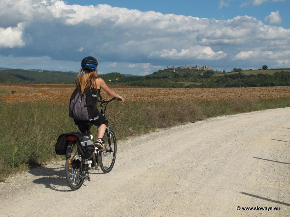 Verso Monteriggioni