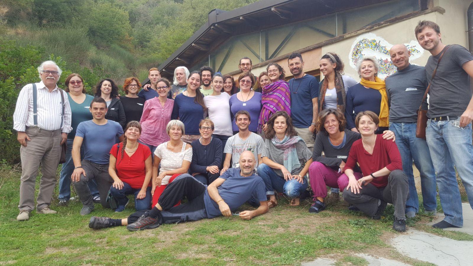 I partecipanti all'ultimo incontro (6-8 ottobre)