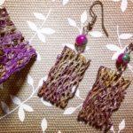 Graziana e i suoi eco-gioielli in fibra di fico d'India