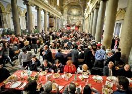 Il_Pranzo_di_Natale_nella_Basilica_di_Santa_Maria_in_Trastevere