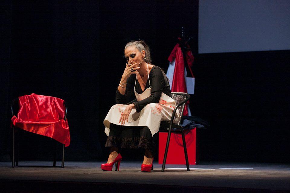 """Barbara Mugnai interpreta """"Anatomia di un risveglio"""""""