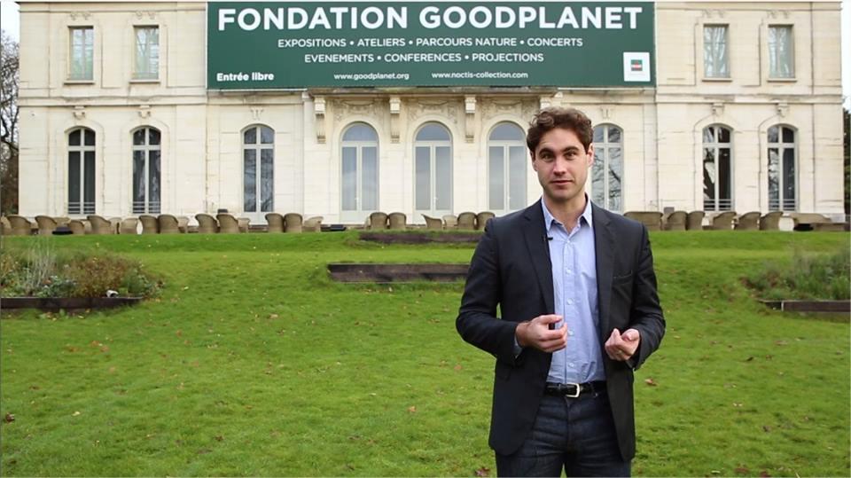 Il direttore esecutivo della GoodPlanet Foundation, Henri Landes