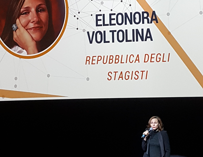 Eleonora Voltolina presenta la Repubblica degli Stagisti