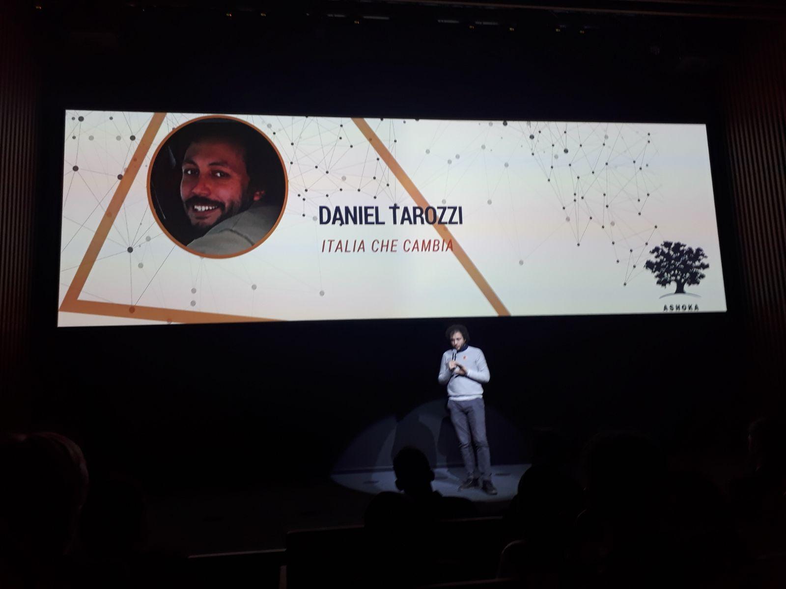 Daniel Tarozzi presenta Italia che Cambia