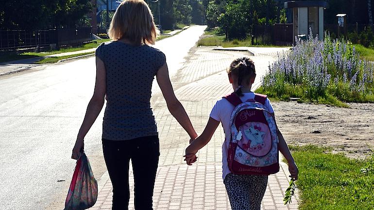 POLAND-CHILDREN-GOING TO SCHOOL