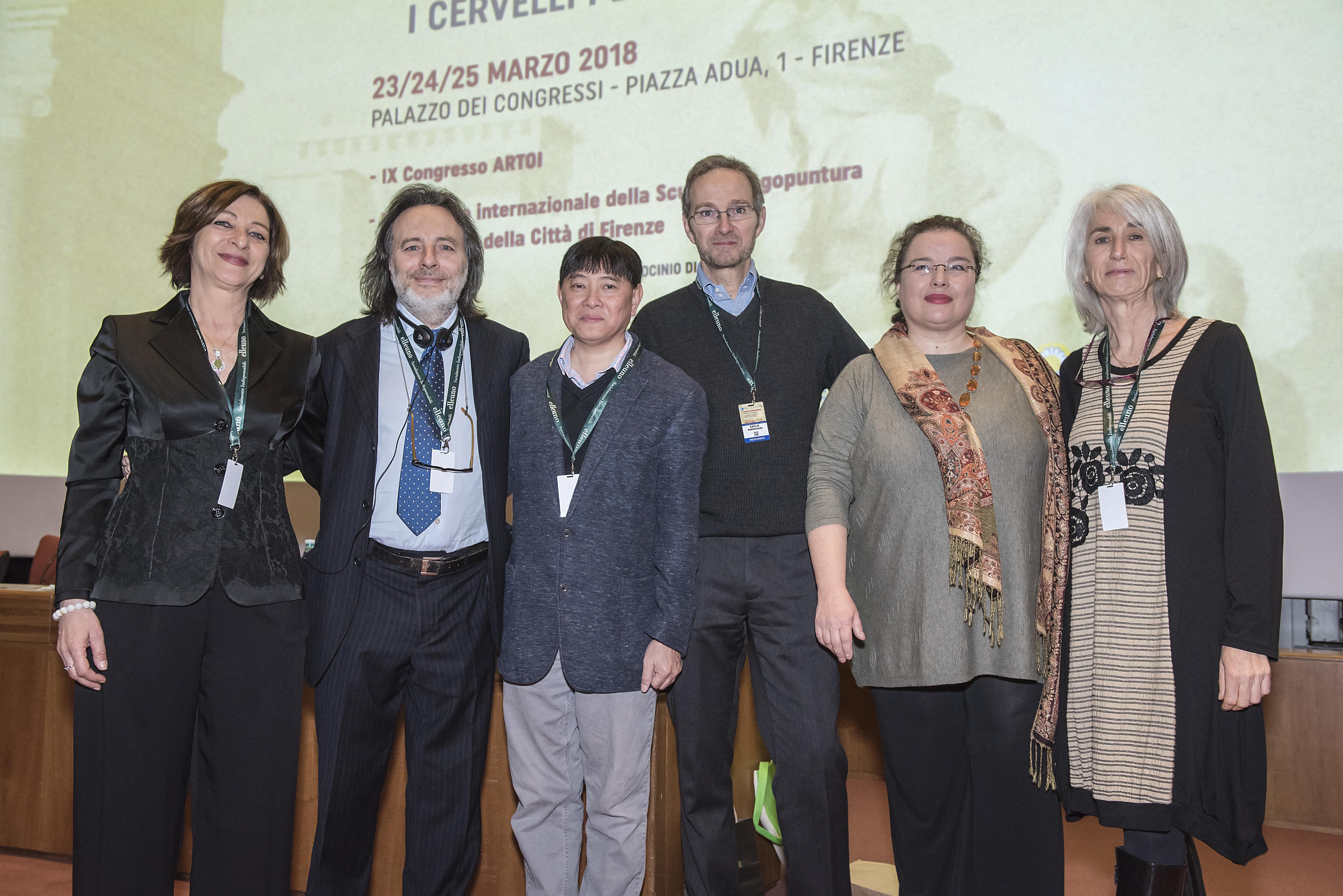 Alcuni relatori del convegno di oncologia integrata