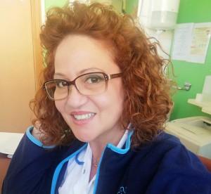 Maria Elena, l'infermiera che fa ridere i pazienti