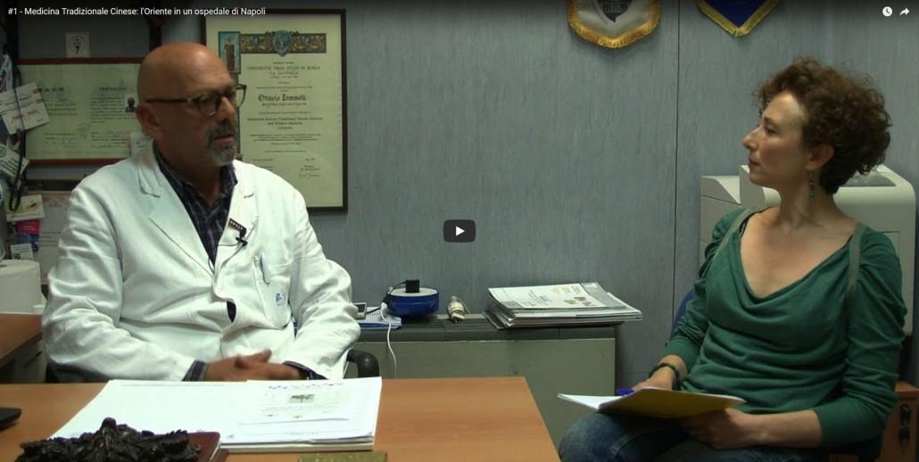 Medicina Tradizionale Cinese l'Oriente in un ospedale di Napoli - YouTube