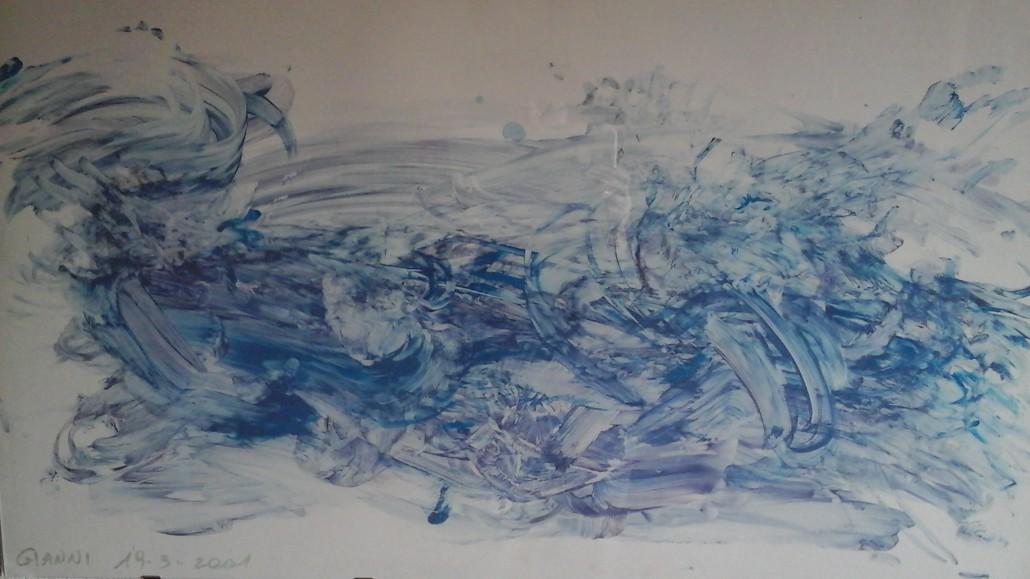 Un dipinto di Gianni