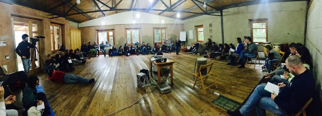 Il workshop di Maurizio Pallante durante il Modulo 1 a Panta Rei