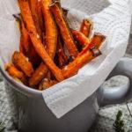Ricette #7 – Carote al forno croccanti