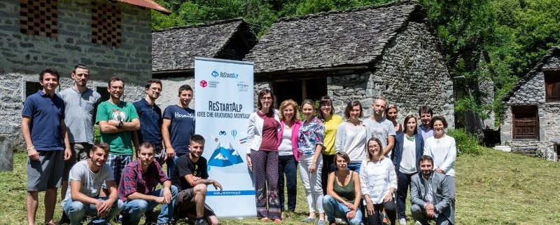 ReStartAlp Premia 2018 - foto di gruppo