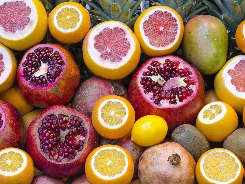 Vitamina C da frutta e verdura