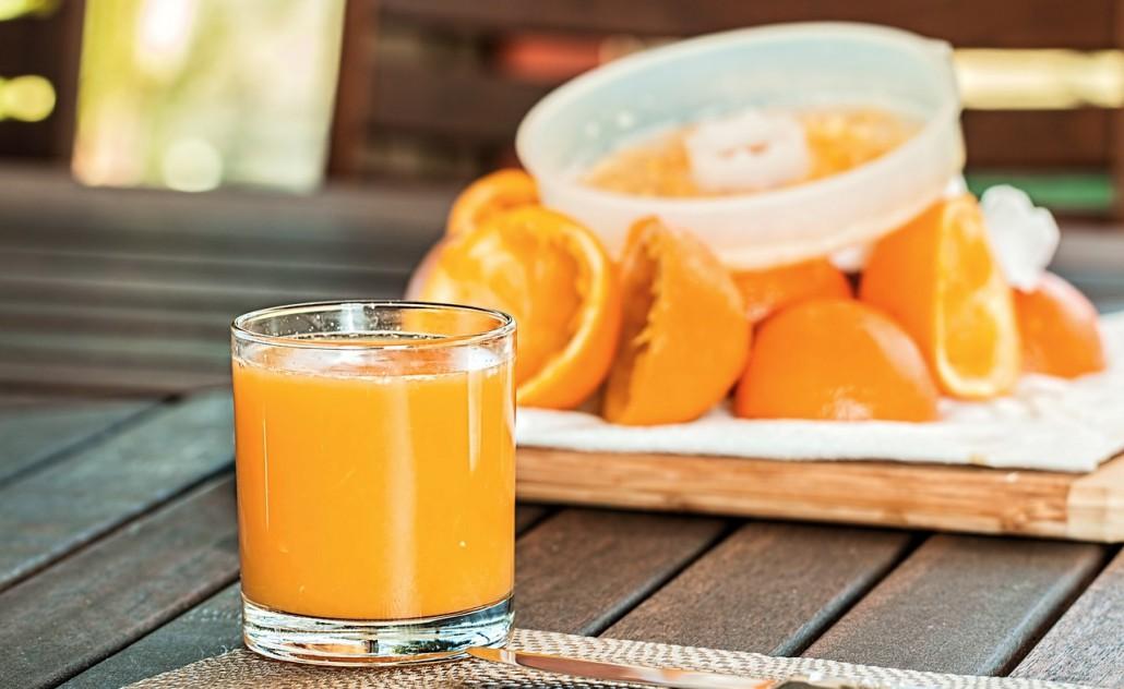 scarti delle arance
