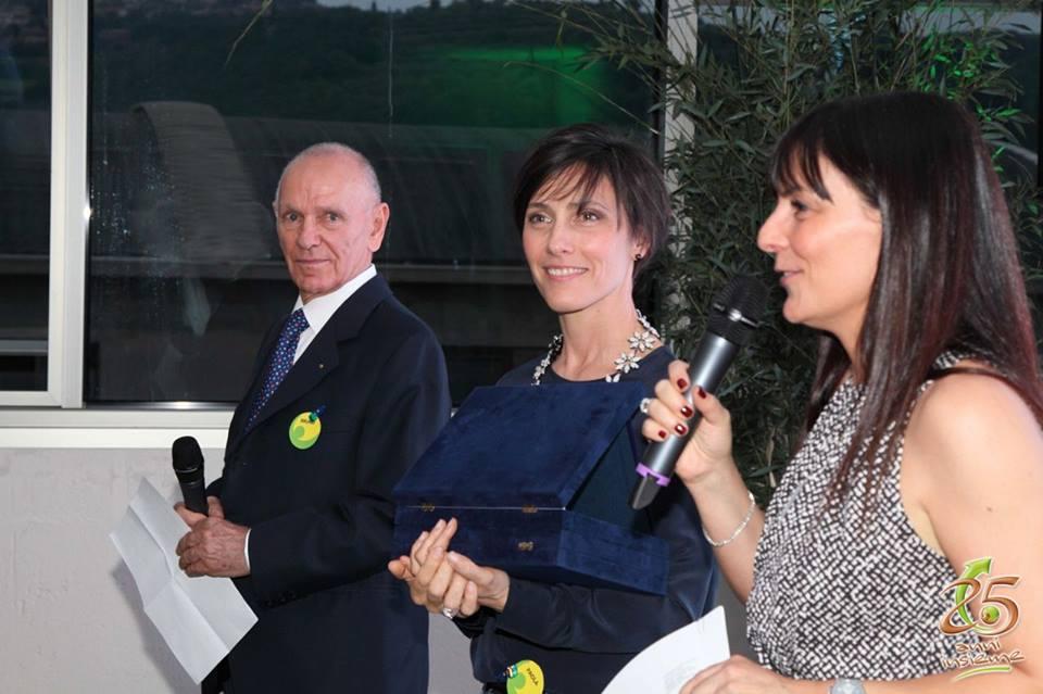 Bruno, Paola e Cristina. La famiglia Tosi in occasione dei 25 anni di Pegaso