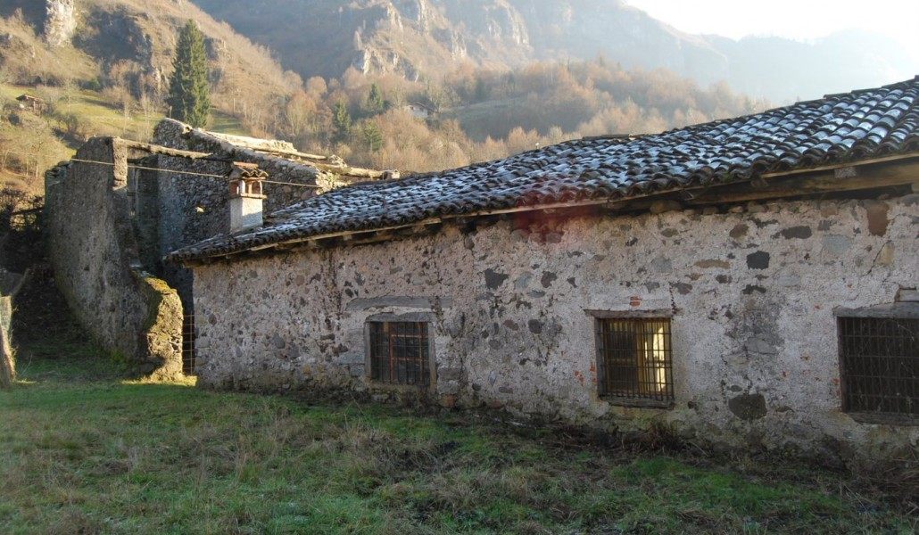 Uno scorcio dell'insediamento rurale di Rebecco