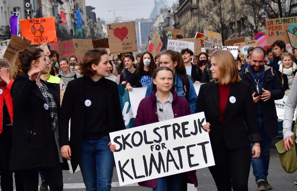 Foto tratta dalla pagina Facebook di Greta Thunberg