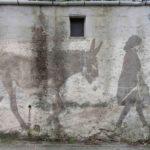 Transumanze, due giovani artisti dipingono sui muri la Sicilia che non c'è più