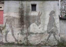 Bozzetto per Danisinni_muro entrata